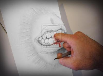 Desenhos 3D capazes de confundir a sua mente Cliques Diversos