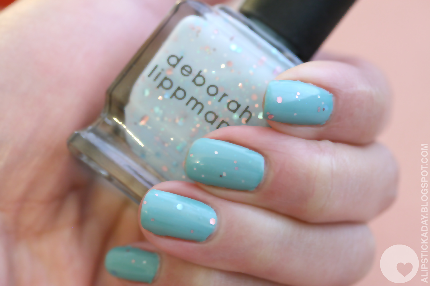 A LIPSTICK A DAY | Nails of the day #10 - Deborah Lippmann Glitter ...