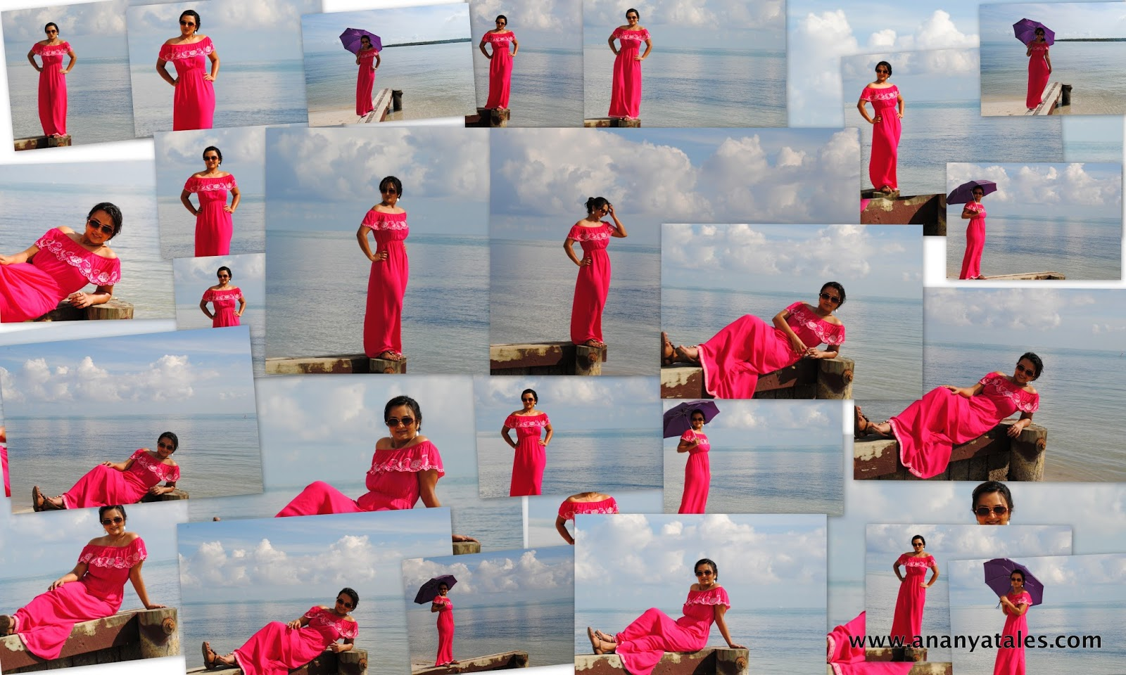 maxi dress, hot pink long maxi dress, maxi dresses in summer,ananya kiran, seattle fashion blogger, beachwear, beach dresses