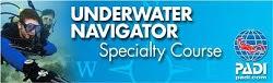 Underwater Navigation Diver