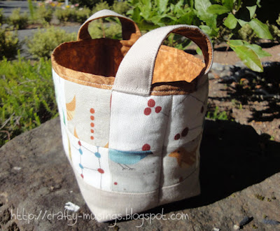 gift basket, side view