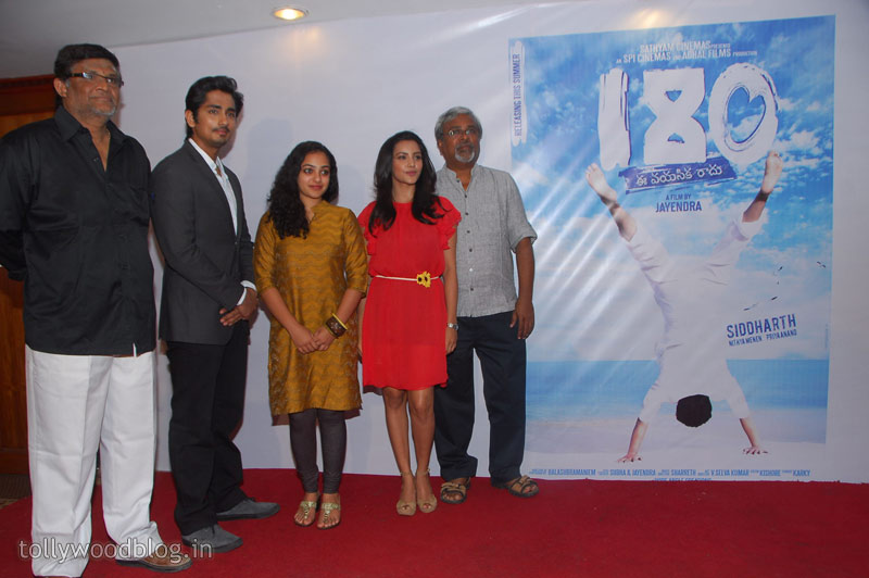 Siddharth  Press Meet Photo Stills Nitya Priya gallery