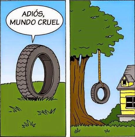 Adios mundo cruel