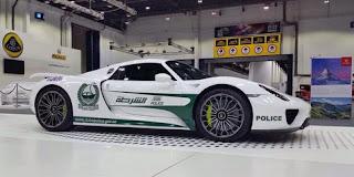 Porsche 918 Spyder ' Worn ' Dubai Police