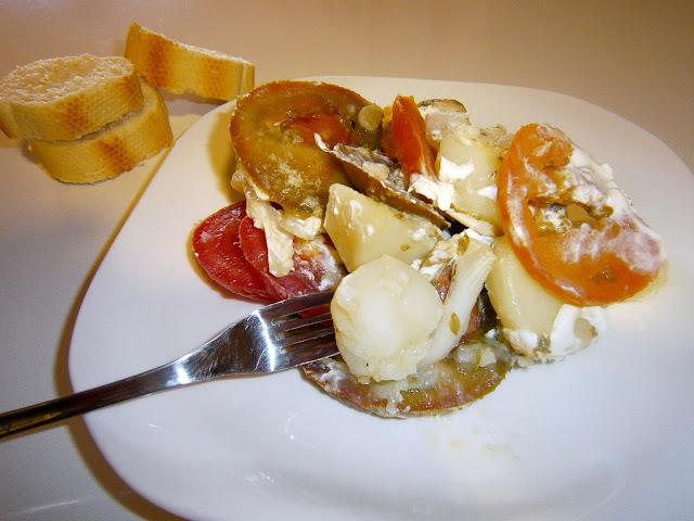 Ensalada de patata y bonito. (Estilo Jamie Oliver)