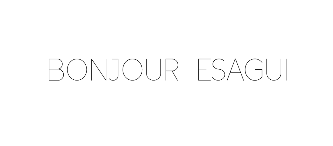 BONJOUR ESAGUI