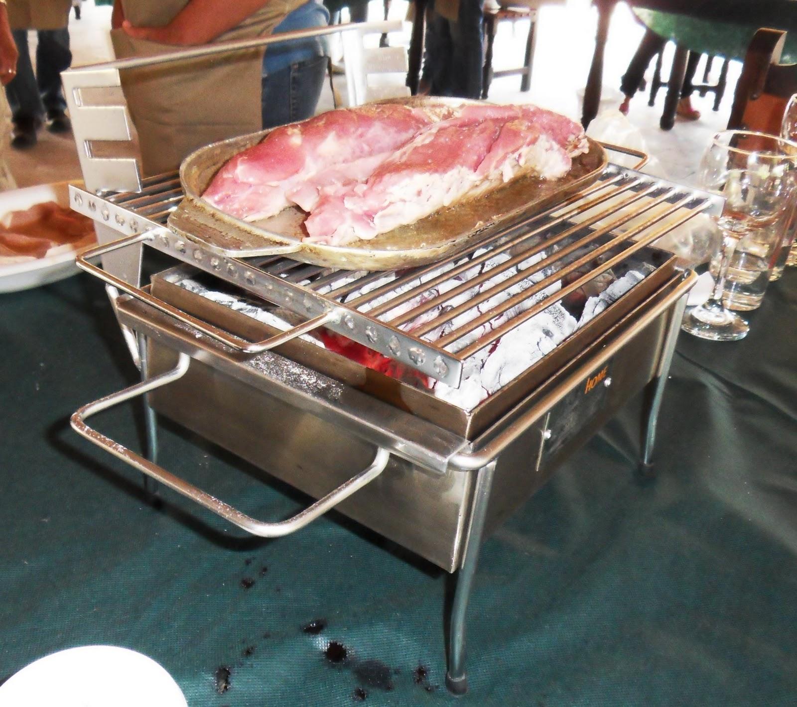 Todo en asados solomillo de cerdo en mi asador de mesa en - Todo en inoxidable ...