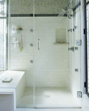 Home interior gallery bathroom shower ideas for Bathroom shower ideas