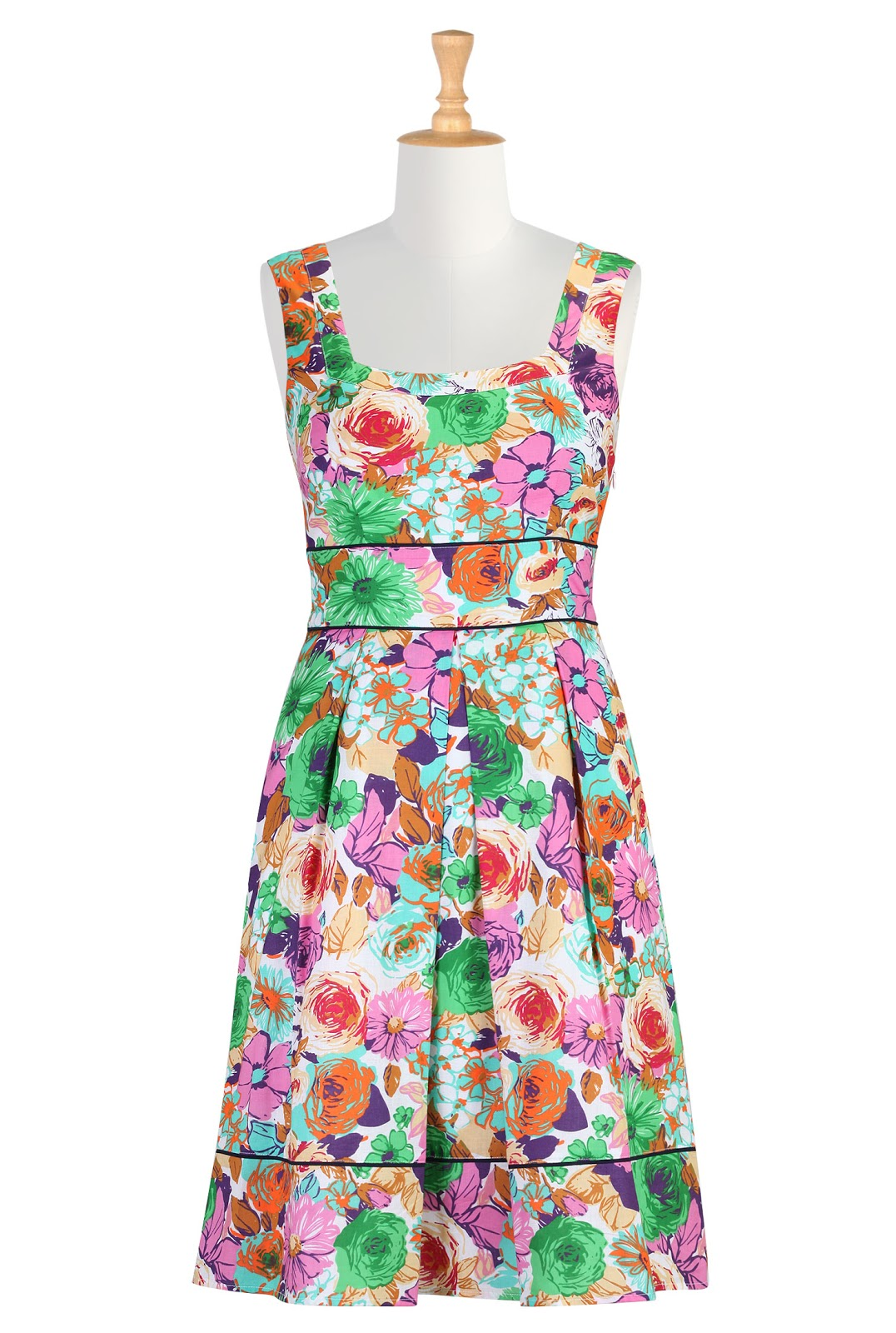 Halter Flare Dress