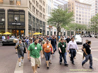 Bloggers take to the streets in Indy