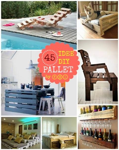 diy pallet: 45 tutorial e idee | paciuga, brega e imbelina - Idee Arredamento Pallet