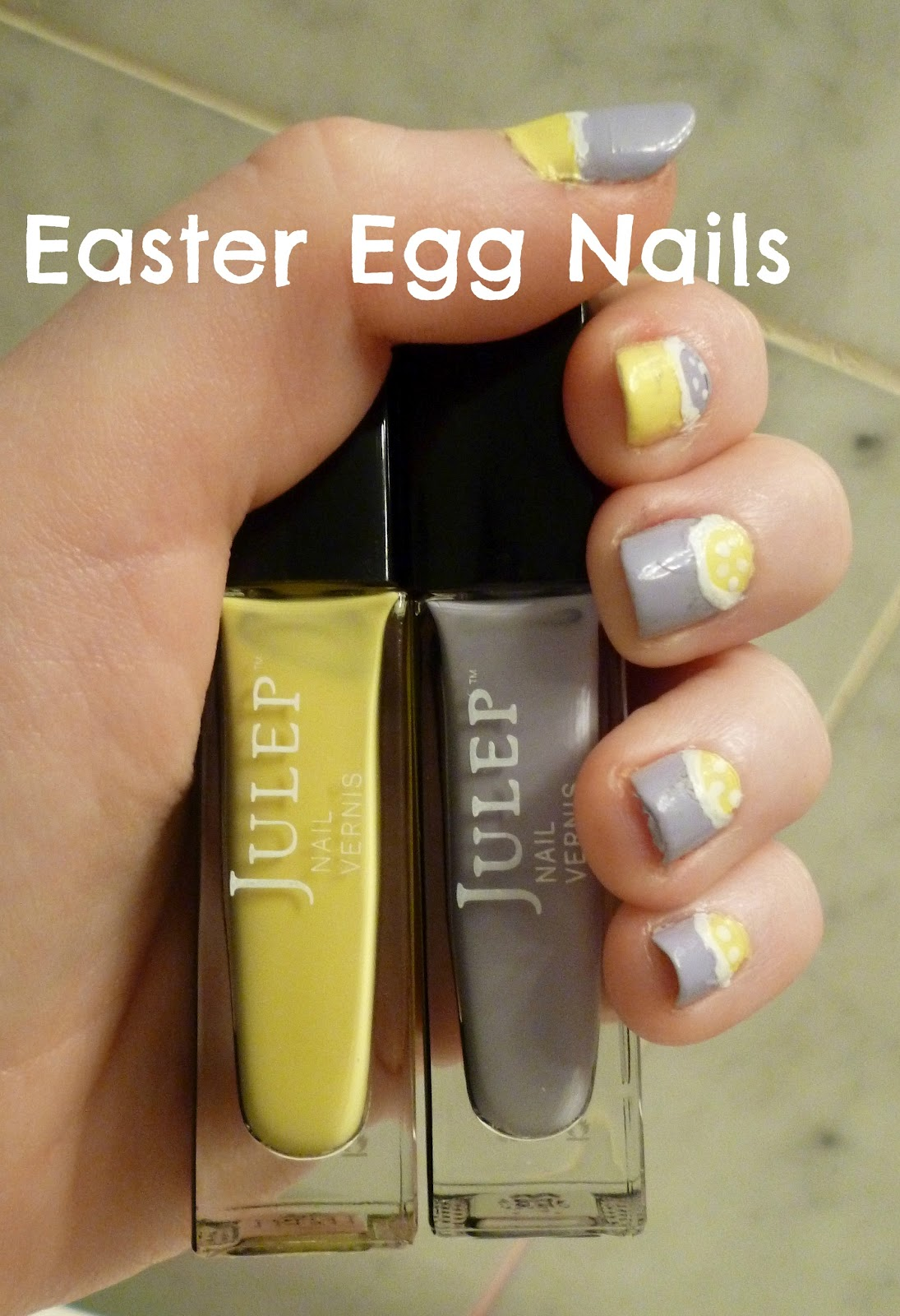 Petite In The City Easter Egg Nails