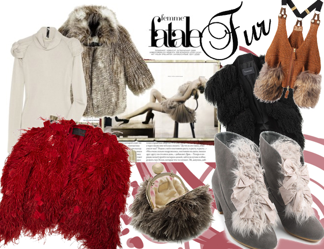 fur Fashion Trends Fall Winter 2012