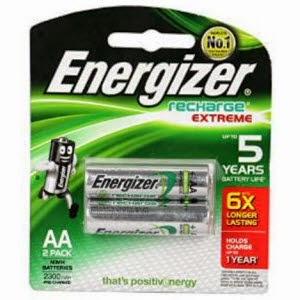 Buy Energizer Rechargeable Battery Charger Mini 900 MaH With 2 X AAA + Timer + Led for Rs. 299 – Amazon