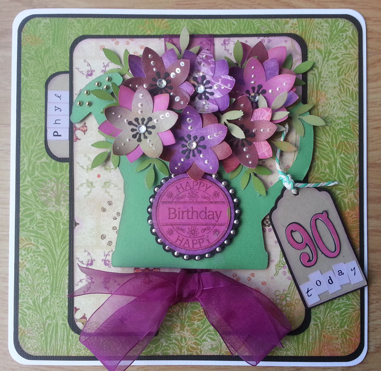 A Moment In Time 90th Birthday Card
