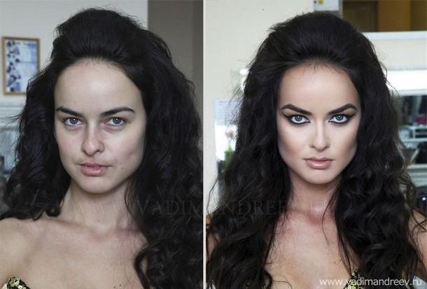 stunning makeup skills 1