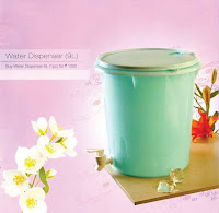 Tupperware Aquasafe Round Dispenser 9ltr