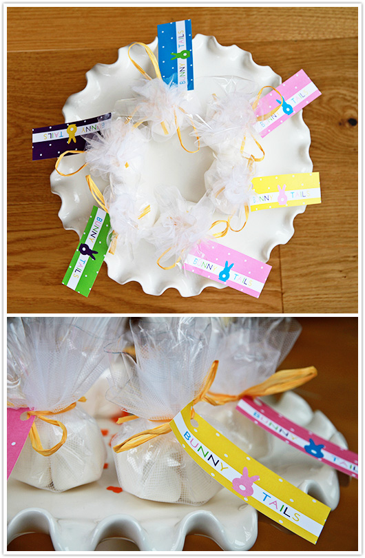 Bunny Tails Printable Tag | Paper & Party Love