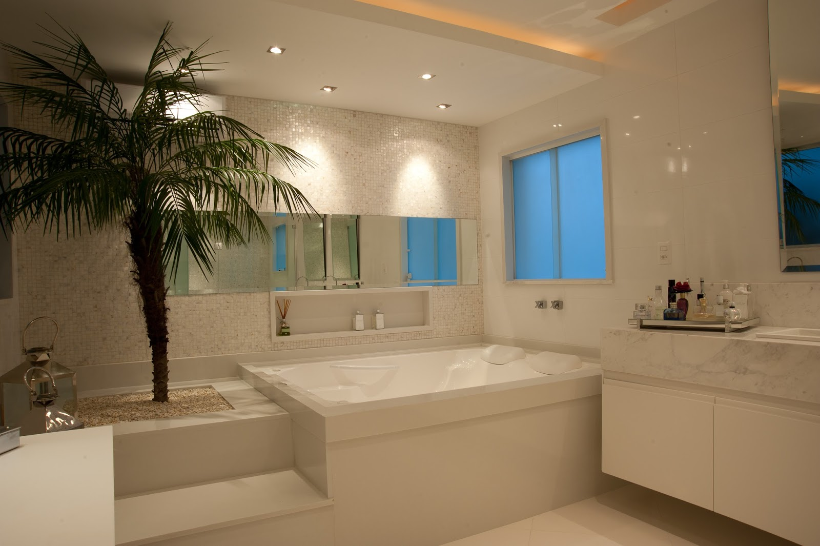 banheiro bancada maquiagem penteadeira cantinho moderno decor salteado  #9E742D 1600x1065