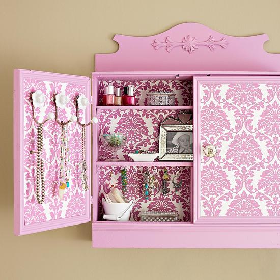 Decorando organizacion bijouterie - Papel adhesivo para decorar ...