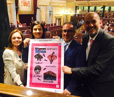 Dende o Congreso  lembrando o Diadas Letras Galegas