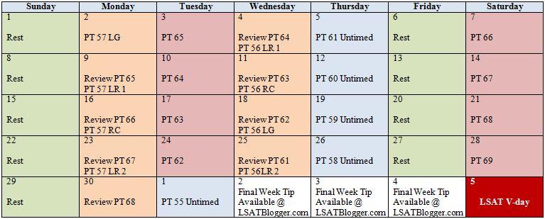 Printable LSAT Answersheet