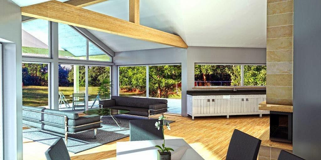 Proyectos de casas modernas proyecto de casa moderna ch134 for Casas ideas y proyectos