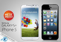 iPhone 5 - Samsung Galaxy S4, offerta sottocosto Prezzofelice.it