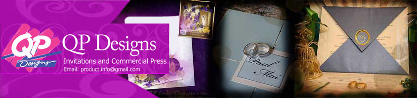 QP Designs - Wedding Invitations in Metro Manila
