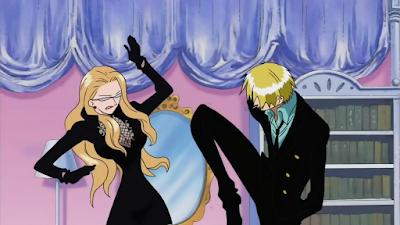 Kenapa Sanji tidak mau memukul wanita?