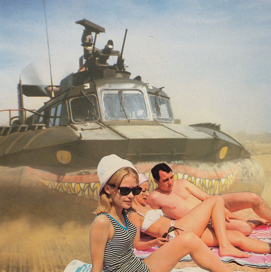 35 Cynical Collages That Tell Uncomfortable Truths About The World - Life's A Beach