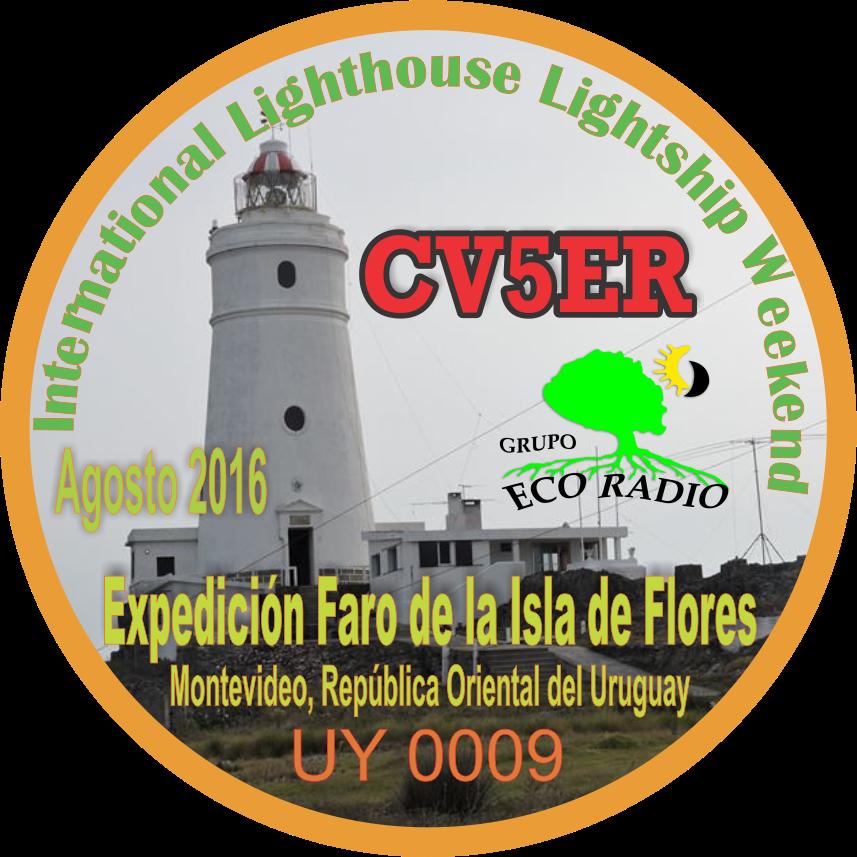 PIN Expedición Faro de la Isla de Flores UY 0009