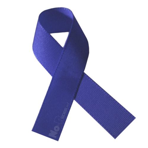 El lazo azul es usado como símbolo de la paz.