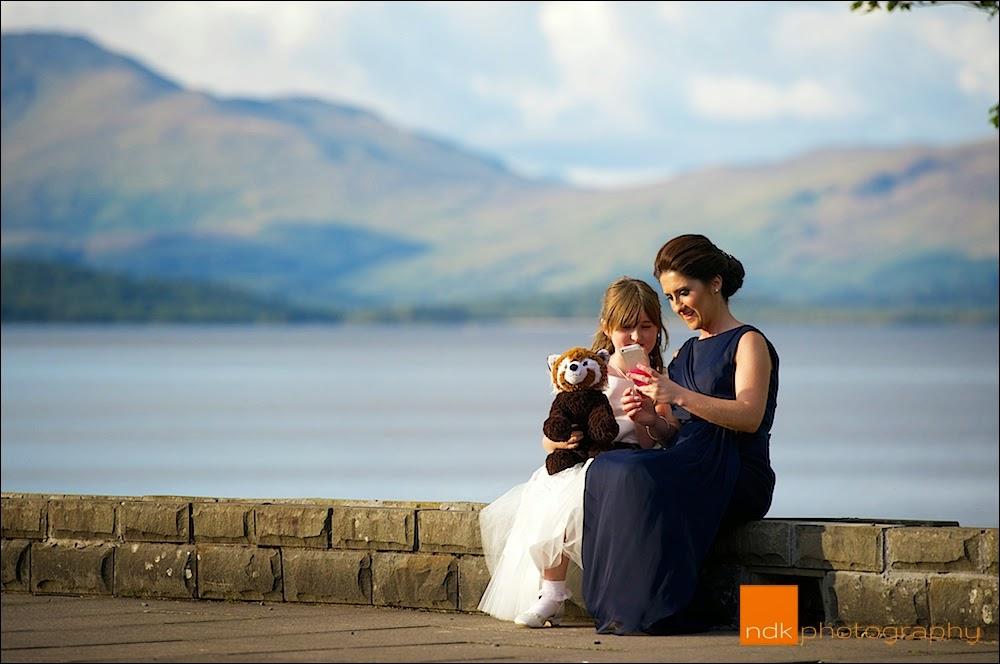 The Cruin Loch Lomond Wedding Photography