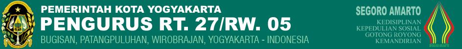 Pengurus RT.27/RW.05