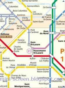 Paris Metro App for BB Interface