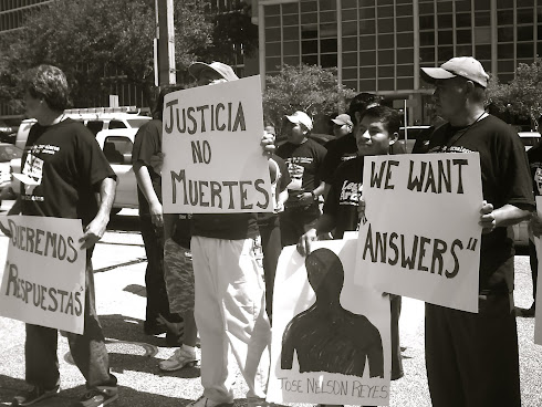 Justica No Muertes/Justice Not Deaths