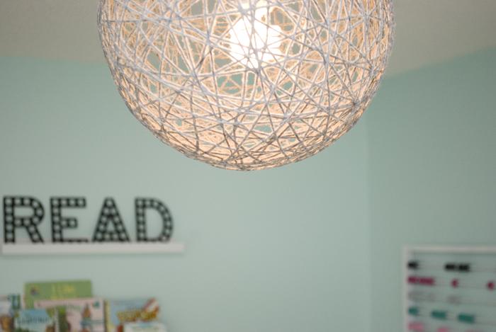 DIY baby ceiling shade
