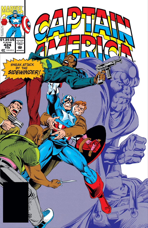 Captain America (1968) Issue #424 #374 - English 1
