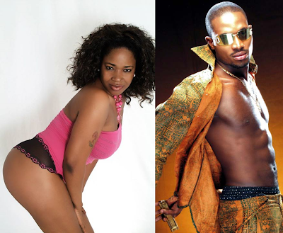 Afrocandy Dreams Of Dbanj..Says He Was Squeezing Her B00bs