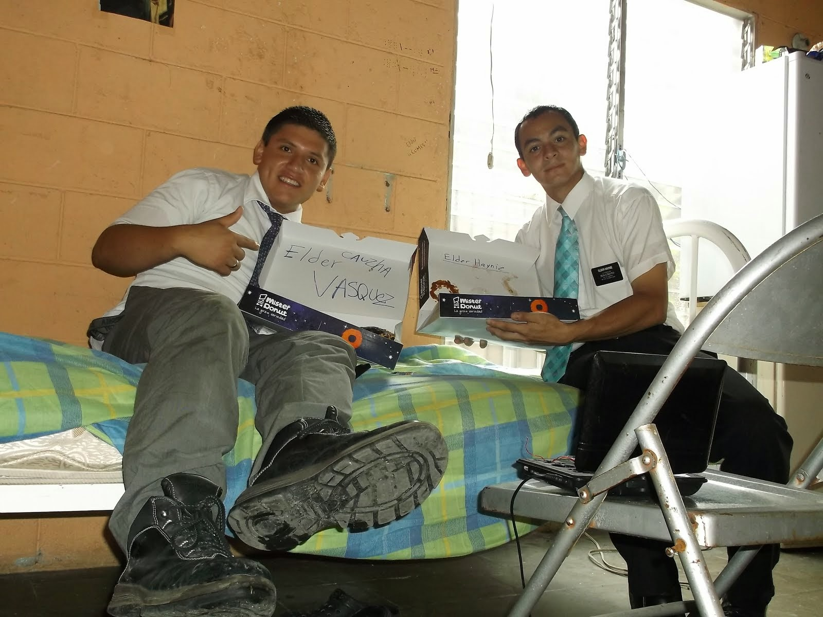 Elder Haynie new old companion E.Vasquez