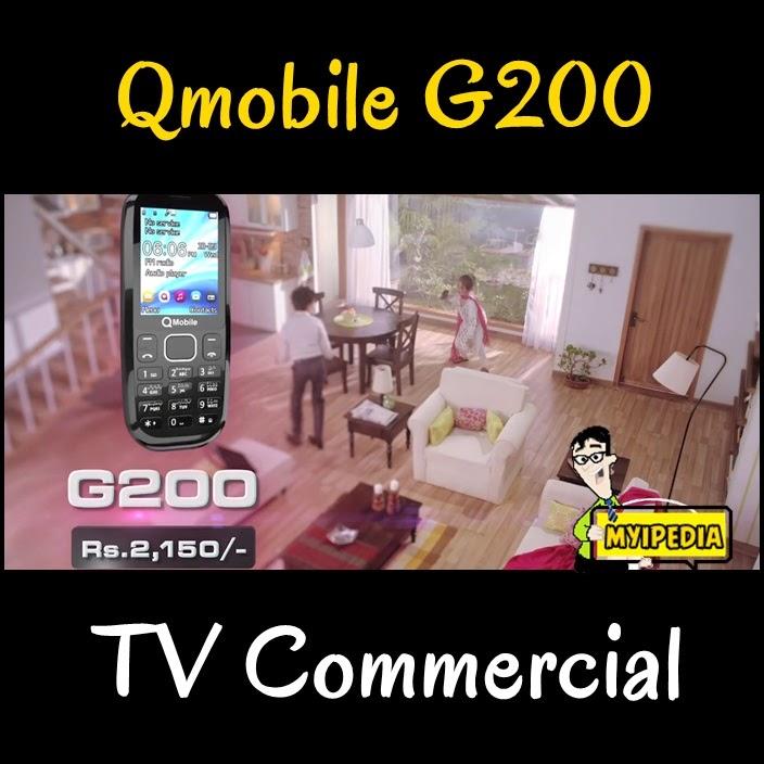 Qmobile G200 TVC 2014 Mariyan Khalif