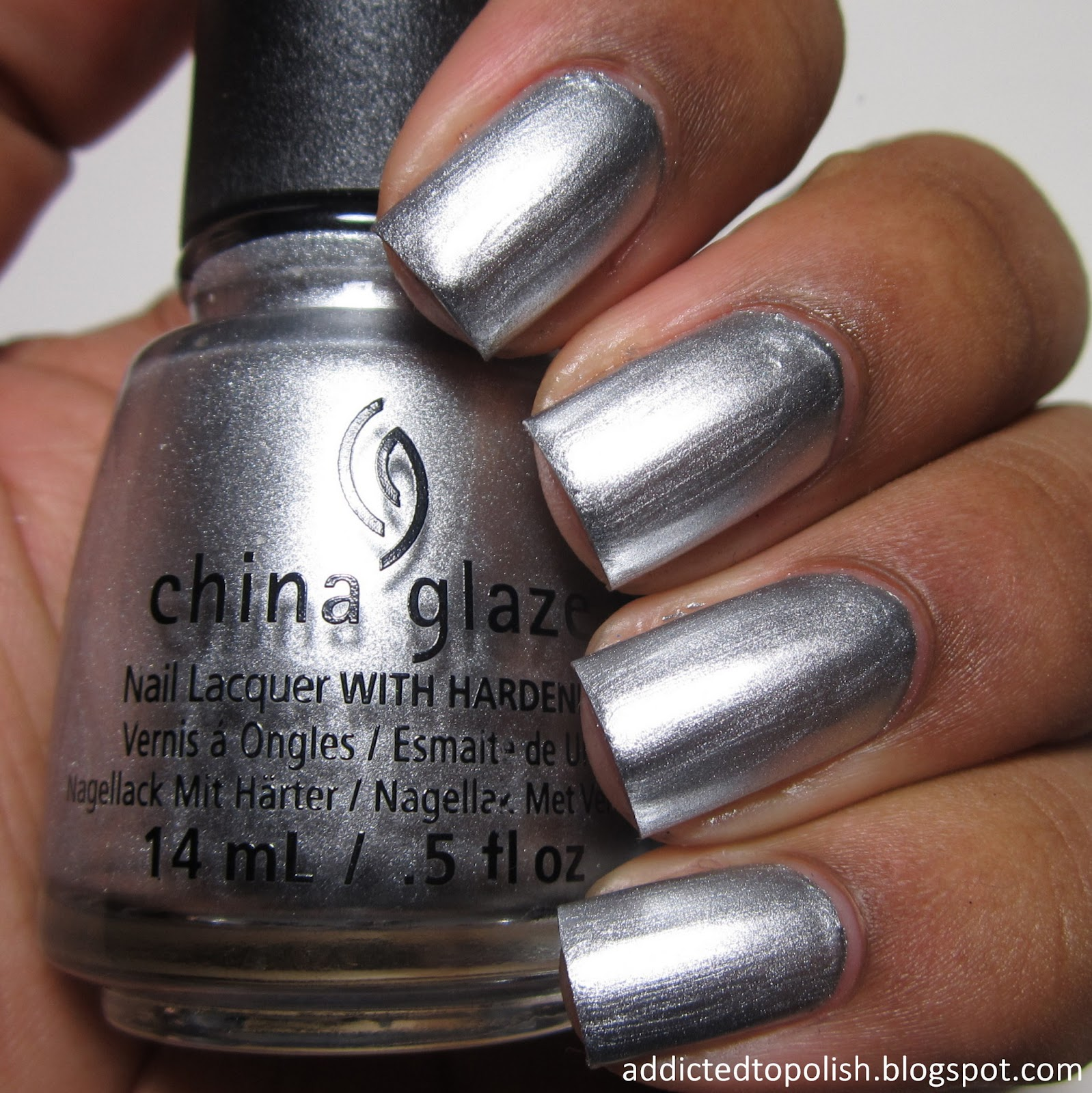 China Glaze Id Melt for You Twinkle Winter 2014