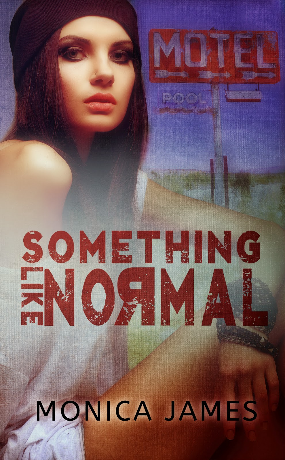 Cover Reveal & Giveaway : Something Like Normal by Monica James