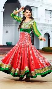 Anarkali Style and Long Frock Design Collection pics ...
