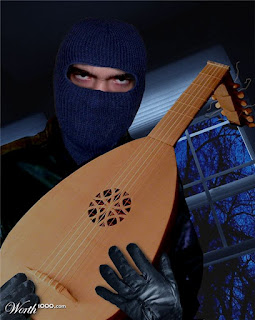 robber with lute