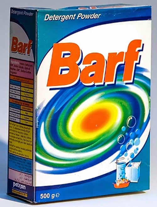 Barf detergent product