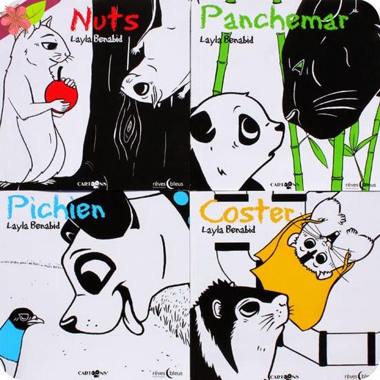 Pichien, Nuts, Panchemar & Coster de Layla Benabid chez Rêves bleus