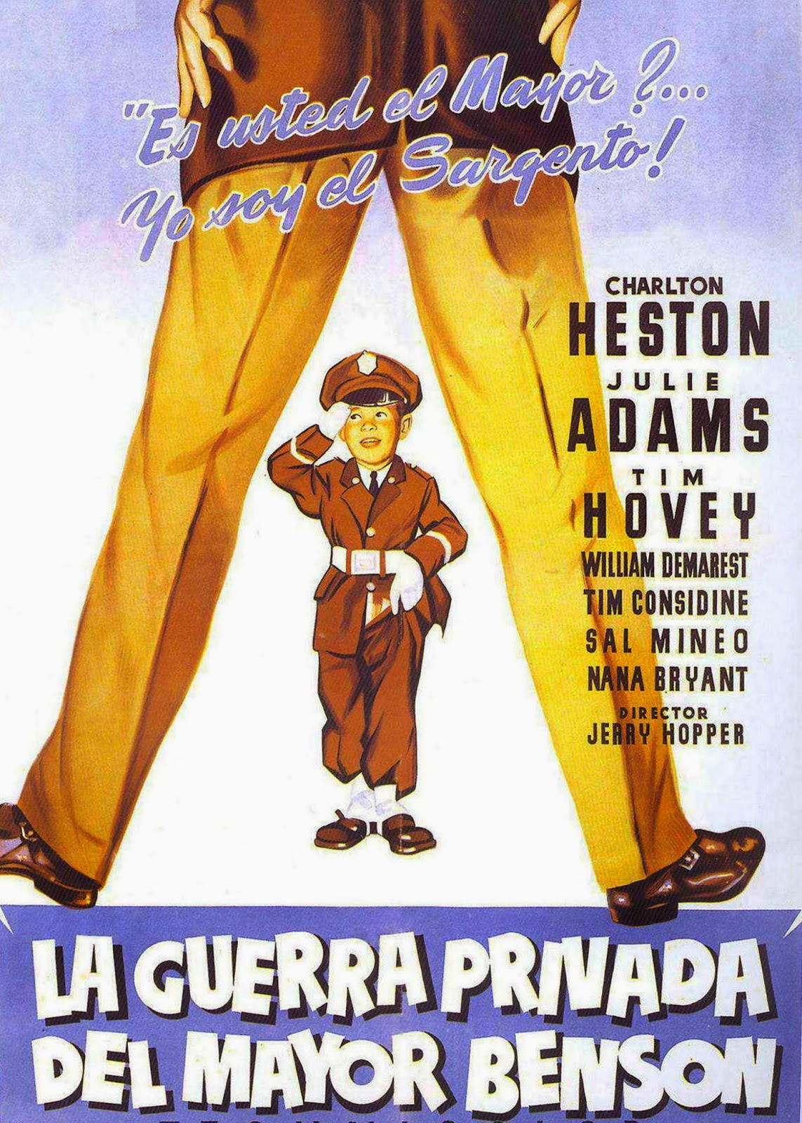 La Guerra Privada del Mayor Benson (1955)