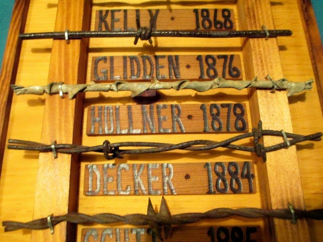 Old West Barbed Wire samples